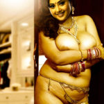Full nude Shafaq Naaz naked body on couch without dress