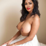 Nude hot black nipple Nivetha Pethuraj naked breast without bra