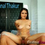 Hairy pussy Mrunal Thakur nude boobs without bra xxx pics