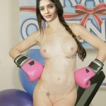 Ritika Singh spreading her ass in boxing ring full nude photo