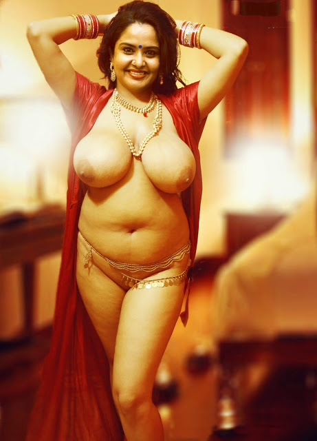 Character Artist Pragathi Nude Boobs and Pussy Images removing her dress nighty