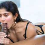 Sai Pallavi sexy ass xxx black lingerie with big black cock pic
