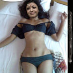 Kajal Aggarwal sleeveless mini skirt exposing her panties naked thigh