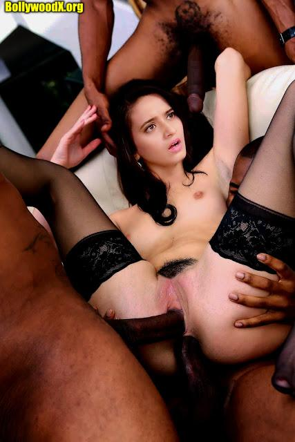 Shivani Surve forced gangbang fucking black cock after the serial shot