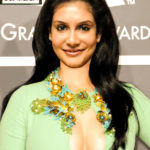 News Reader Hema big boobs nude cleavage open blouse without bra inside