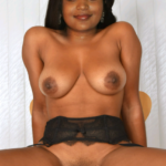 Naked tv serial actress Suzane George spreading her leg without clothes