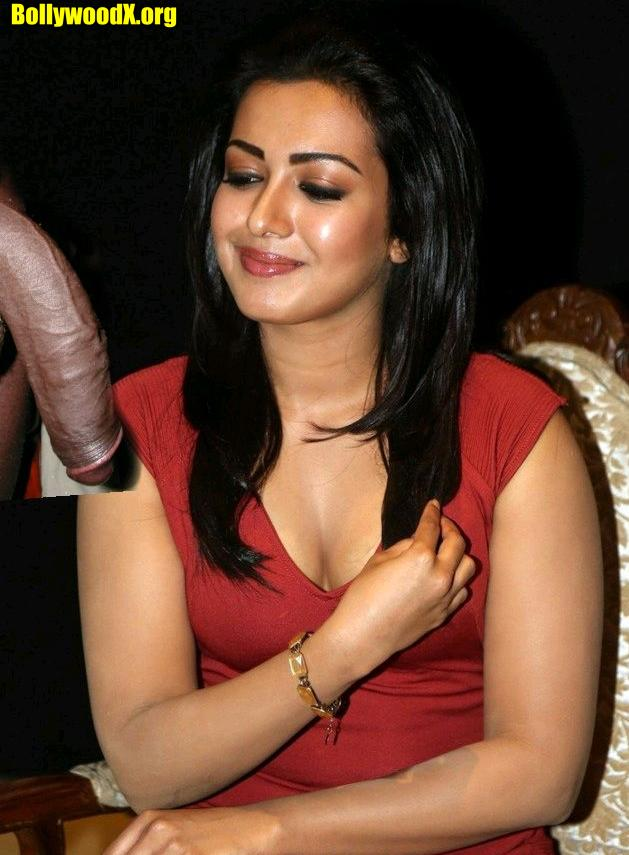 Catherine Tresa love black cock small boobs actress naked pussy low neck cleavage