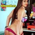 Shanvi Srivastava sexy boobs naked slim body removing her red panties nude navel