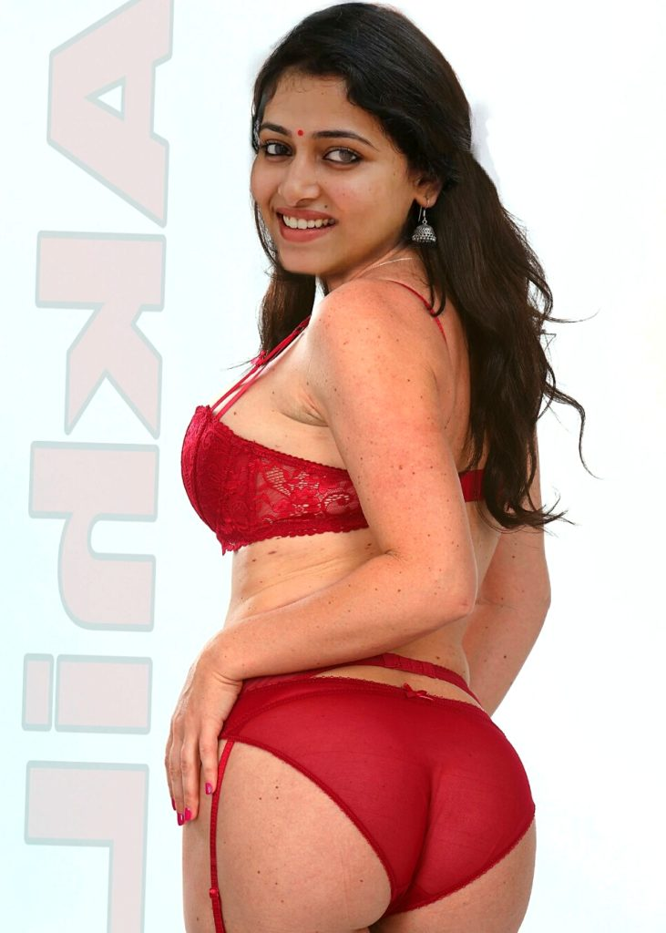 Anu sithara Hot red Bikini ass sexy Malayali actress without dress fake
