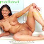 Sexy cute bitch Sai Pallavi shaved pussy and armpit without dress
