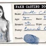 Mishti fake casting document id card picture