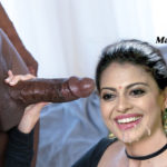 Anusree Nair hand job black cock cum on her mouth without cover
