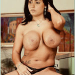 Big boobs Namitha showing her pussy in black panties