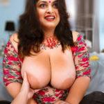 Big boobs Ramya Krishnan nipple pressed without bra