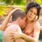 Nayanthara boyfriend pressing her boobs in swimming pool full nude photo