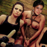 Samantha hardcore bondage naked body tied torture slave actress