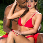 Amala Paul red hot bikini without clothes actress blacked photo
