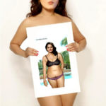 Naked Anushka Shetty promoting her semi nude pose in front of media
