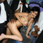 Shweta Tiwari doggy style ass fucked pressing her boobs in full mood