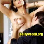 Shriya Saran sexy small boobs hot nipple sucking pic