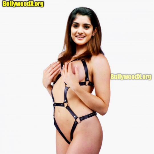 Nivetha Thomas covering her mallu boobs and nipple picture