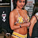 Vithika Sheru pierced navel in yellow bra and panties xxx