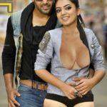 Hot Malayali actress Nazriya nazim hot boobs naked thigh outdoor photo