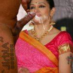 Shobana Nude blowjob sex xxx cum on her face without condom