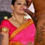 Shobana nude blowjob sex in saree xxx Malayalam actress fake photo