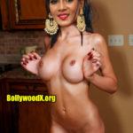 Meera Mitun showing her shemale cock pressing boobs 2020 fake