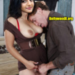 Gabriella Charlton shaved pussy pulled nude nipple sucking photo