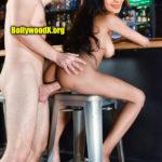 Samyuktha Karthik naked pussy fucked from back bar photo without dress