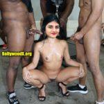 Bigg boss tamil housemate cum on Gabriella Charlton naked body