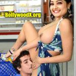 Big boobs roja serial actress Priyanka Nalkari pussy licking photo