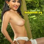 Kruthika Jayakumar touching her naked ass topless boobs side view