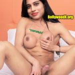 Naziya Khan handjob her shemale nude cock pressing boobs WhatsApp DP