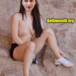 Topless Shruti Haasan no bra actress nude boobs outdoor shoot