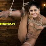 Meera Nandan naked slave actress tied body pic
