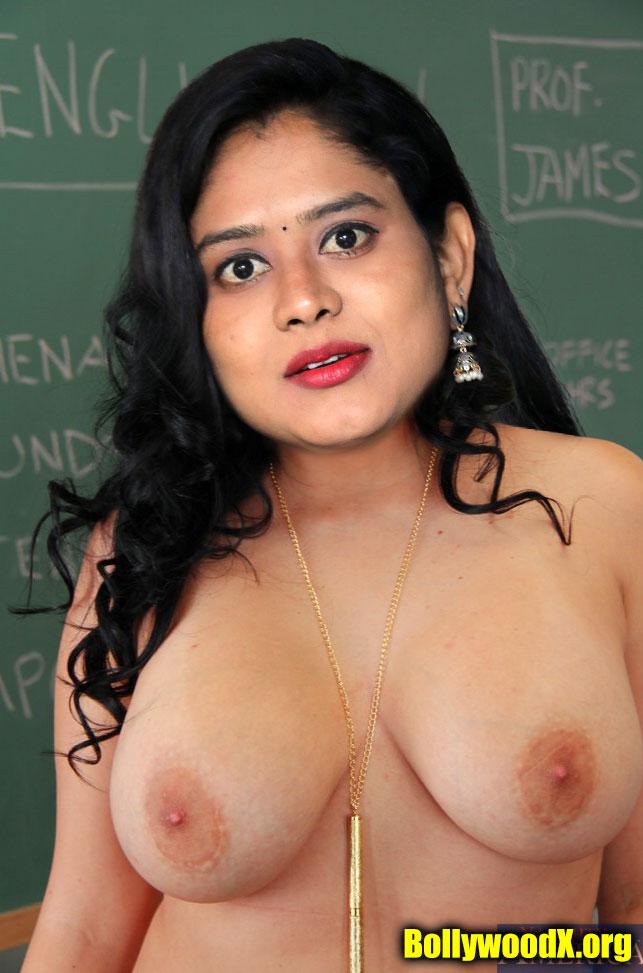 Naked Ramya Chinni boobs nipple nude without bra