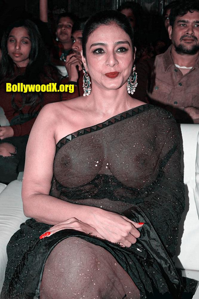 Big boobs milf Tabu x ray saree without blouse nipple see through