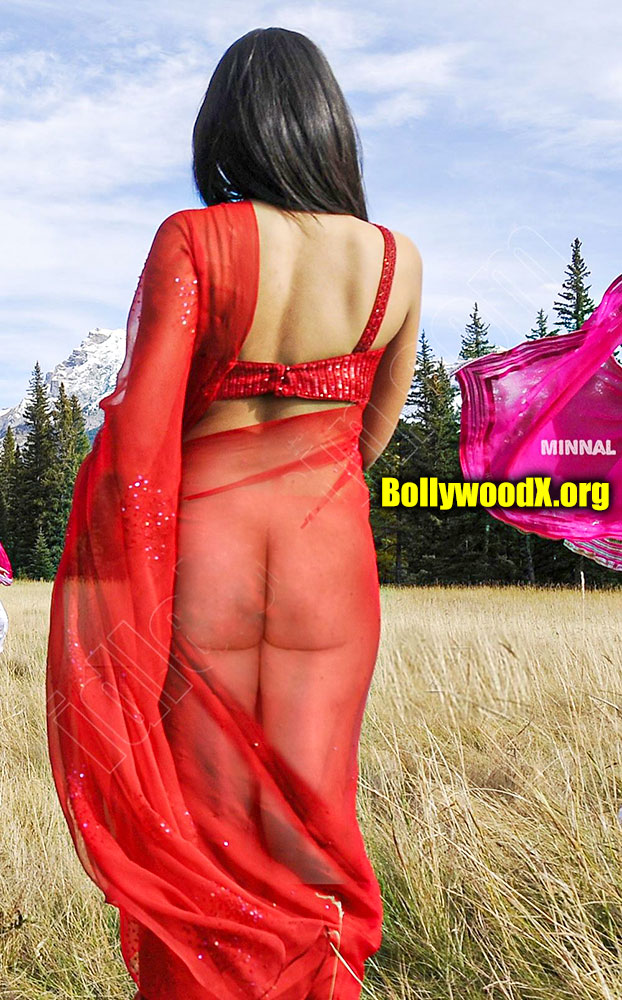 Hot mallu Trisha Krishnan x ray saree nude ass exposed song shooting
