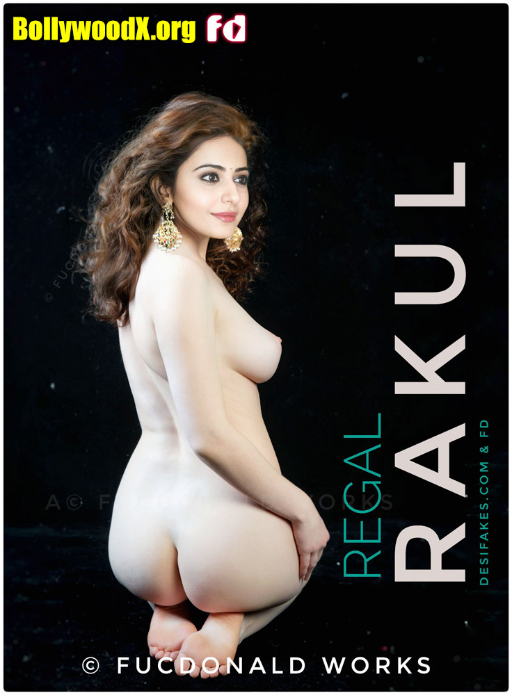 Rakul Preet Singh naked white ass back pose sexy nipple photo without clothes
